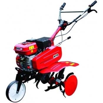 Motosapa Energo H70, benzina, putere 7 Cp, latime de lucru 75 cm, pornire la sfoara, 2 viteze inainte + 1 inapoi