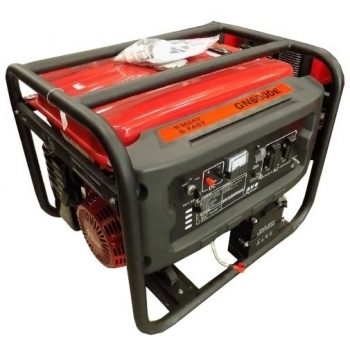 Generator de curent ENERGO, GN6000E, monofazic, putere 4.4 kW, benzina, putere motor 13 Cp, tensiune 220 V, pornire electrica, AVR inclus