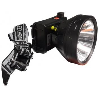 Lanterna de cap ENERGO, 1 LED , putere 6 W, lumina alba, tensiune alimentare 220 v