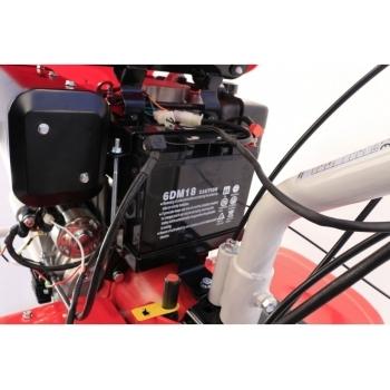 Motocultor Loncin  LC 1440 Diesel 9,5 CP cu roti de cauciuc  5.00-12, latime de lucru 60-144 cm #8