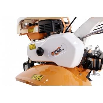 Motosapa O-mac New 750-S + roti cauciuc+plug + rarita, benzina, putere 7 Cp, latime de lucru 50-80 cm, pornire la sfoara, 2 viteze inainte + 1 inapoi #6