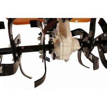 Motocultor O-mac NEW 1000-S 7 CP cu roti cauciuc  + plug + rarita, latime de lucru 50-90 cm #11