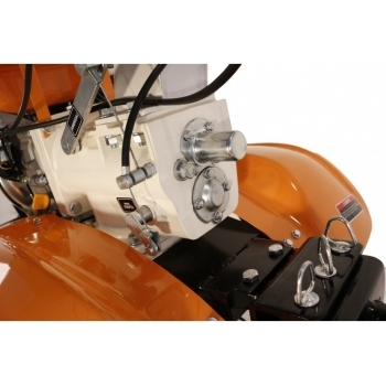 Motocultor O-mac NEW 1000-S 7 CP cu roti cauciuc  + plug + rarita, latime de lucru 50-90 cm #6