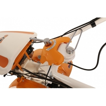 Motocultor O-mac NEW 1000-S 7 CP cu roti cauciuc  + plug + rarita, latime de lucru 50-90 cm #8