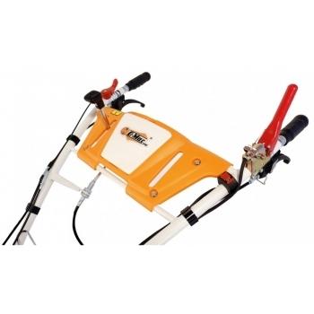Motocultor O-mac NEW 1000-S 7 CP cu roti cauciuc  + plug + rarita, latime de lucru 50-90 cm #9
