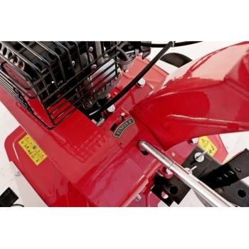 Motosapa Prorun PT-750 A + roti de cauciuc  4.00x8 + rarita + suport, benzina, putere 7Cp, latime de lucru 60-90 cm, pornire la sfoara, 4 viteze inainte + 2 inapoi #12