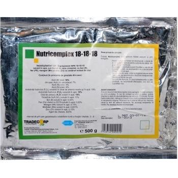 Ingrasamant fertirigare Nutricomplex 18-18-18(500 gr) Chemark