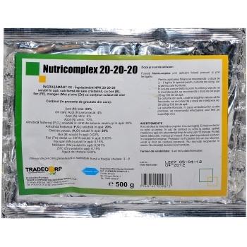 Ingrasamant fertirigare Nutricomplex 20-20-20(500 gr) Chemark