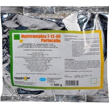 Ingrasamant fertirigare Nutricomplex 7-12-40 Portocaliu(500 gr) Chemark