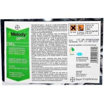 Fungicid Melody compact 49 WG(200 gr) Bayer
