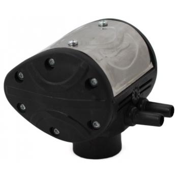 Pulsator pentru aparate de muls vaci cu doua iesiri