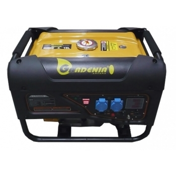 Generator curent monofazat Gardenia  LT 2500ES 2200W, putere motor 6.5 CP, tensiune 230V/Hz, pornire la cheie