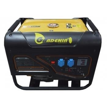 Generator curent monofazat Gardenia  LT 6500S 5500W, putere motor 13 CP, tensiune 230V/50 Hz, pornire manuala