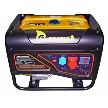 Generator curent trifazat  Gardenia  LT 8000S3 6500W, putere motor 15 CP, tensiune 380V/50 Hz, pornire manuala