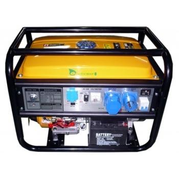 Generator curent monofazat Gardenia  LT 8000EB-ATS 6500W, putere motor 15 CP, tensiune 230V/50 Hz, cu panou de automatizare