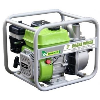 Motopompa Gardenia LT 30CX, 3'', putere motor 5.5 CP, debit maxim 1000l/min, inaltime refulare 28 m, pornire manuala