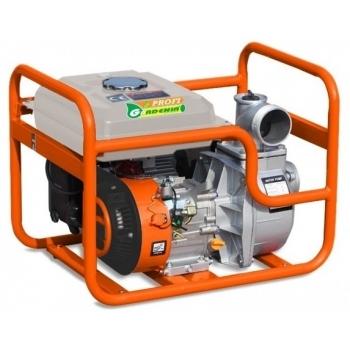 Motopompa Gardenia Profi WP 20A, 2'', putere motor 7 CP, debit maxim 500 l/min, pornire manuala