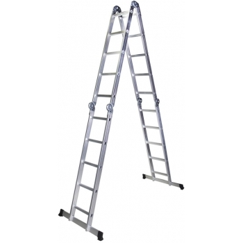 Scara multifunctionala STR405, 4 segmente x 5 trepte, 5.8 metri