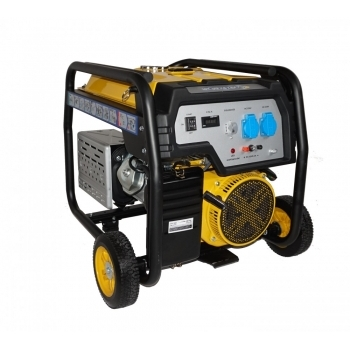 Generator de curent Stager, FD6500E, monofazic, putere 5.5 kW, benzina, putere motor 13 Cp, tensiune 230 V, pornire electrica, AVR inclus #2