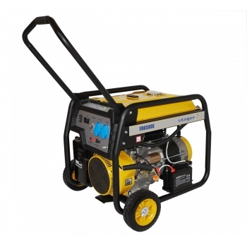 Generator de curent Stager, FD6500E, monofazic, putere 5.5 kW, benzina, putere motor 13 Cp, tensiune 230 V, pornire electrica, AVR inclus