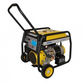 Generator de curent Stager, FD7500E, monofazic, putere 6.5 kW, benzina, putere motor 16 Cp, tensiune 230 V, pornire electrica, AVR inclus