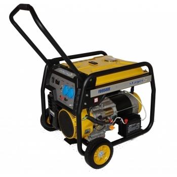 Generator de curent Stager, FD9500E, monofazic, putere 7.5 kW, benzina, putere motor 17.5 Cp, tensiune 230 V, pornire electrica, AVR inclus