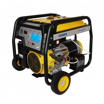 Generator de curent monofazat Stager FD 10000E, 8.5 Kw, putere motor 19 cp, pornire electrica #2