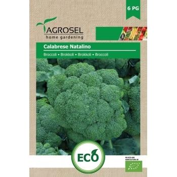 Seminte Agrosel Bio Broccoli Calabrese Natalino, 2.5gr