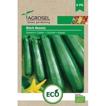Seminte Agrosel Bio Dovlecel Black Beauty, 3gr