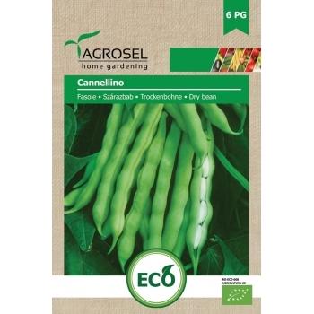 Seminte Agrosel Bio Fasole Cannellino, 20gr