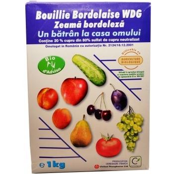 Fungicid Bouillie Bordelaise WDG-Zeama bordoleza(1 kg) Cerexagri