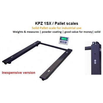 Cantar U , dimensiuni 820x1200 mm, capacitate maxima 300 kg,   acumulator si certificare metrologica