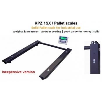 Cantar U , dimensiuni 820x1200 mm, capacitate maxima  3000 kg,   acumulator si certificare metrologica