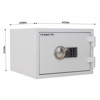 Seif antifoc FIRE SAFE 30 EL, inchidere electronica