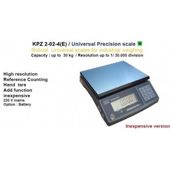 Cantar de precizie , dimensiuni 220x315 mm,  capacitate maxima 30 kg, cu certificare metrologica