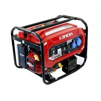 Generator de curent O-mac, LC6500D-DC Loncin, monofazic, putere 5.5 kW, benzina, putere motor 7.38 Cp, tensiune 220 V, pornire electrica, AVR inclus #4