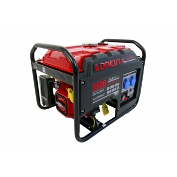 Generator de curent O-mac, LC3500-A Series Loncin, monofazic, putere 3.1 kW, benzina, putere motor 7.0 Cp, tensiune 240 V, pornire electrica #3