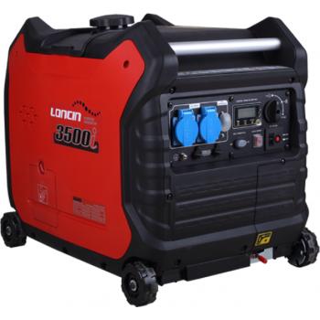 Generator de curent O-mac, LC3500i (inverter) Loncin, monofazic, putere 3.5 kW, benzina, putere motor 6.0 Cp, pornire electrica #3