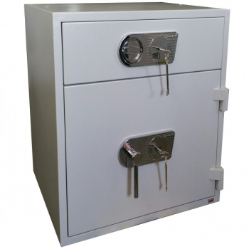 Seif certificat cu sertar Comsafe RSR1/67, inchidere mecanica 2 chei