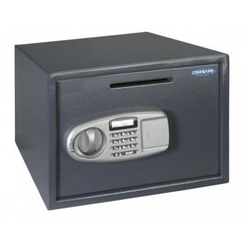 Seif mobila LETTERA 1 antracit, inchidere electronica