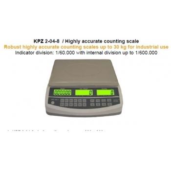 Cantar functie numarare piese , dimensiuni 230x300  mm, capacitate maxima 30 kg, fara certificare  metrologica