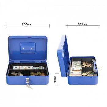 Caseta bani TRAUN3, albastru #2
