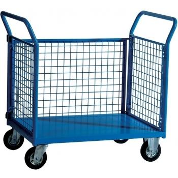 Carucior pentru depozit Trolley SPEC 3, capacitate portanta 300 kg