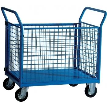 Carucior pentru depozit Trolley SPEC 4, capacitate portanta 300 kg