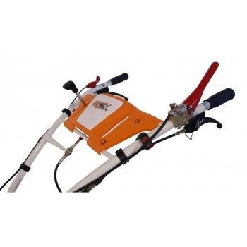 Motocultor O-Mac New 1000-S, 8 Cp, cu roti de cauciuc si far #5