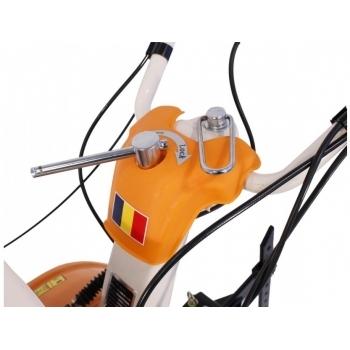 Motosapa O-Mac New 1000-S cu far + roti de cauciuc+plug reversibil, benzina, putere 8 Cp, latime de lucru 55-90 cm, pornire la sfoara, 2 viteze inainte + 1 inapoi #7