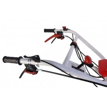 Motocultor Loncin LC1200(3+1 viteze) 8 Cp cu roti cauciuc+plug+rarita+prasitoare+roti metalice #11