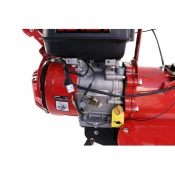 Motosapa Loncin LC1200 cu roti cauciuc+plug+rarita+prasitoare+roti metalice, benzina, putere 8 Cp, latime de lucru 80-130 cm, pornire la sfoara, 3 viteze inainte + 1 inapoi #5