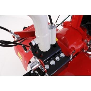 Motosapa Loncin LC1200 cu roti cauciuc+plug+rarita+prasitoare+roti metalice, benzina, putere 8 Cp, latime de lucru 80-130 cm, pornire la sfoara, 3 viteze inainte + 1 inapoi #10