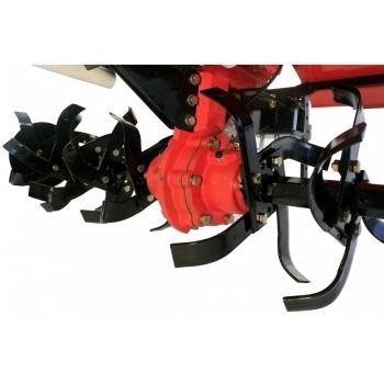Motocultor PRO SERIES NEW 1350-S cu diferential si roti, motorina, putere 12 Cp, latime de lucru 70-150 cm, pornire automata la cheie, 2 viteze inainte + 1 inapoi #3